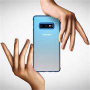TPU Hülle für Samsung Galaxy S7 Case Silikon Cover Transparent mit Farbrand Handyhülle