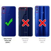 Schutzhülle für Honor 8A Hülle Transparent Slim Cover Clear Case