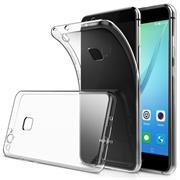 Schutzhülle für Huawei P10 Lite Hülle Silikon Backcover Ultra-Clear Case im transparenten Design