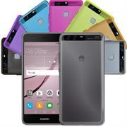 Schutzhülle für Huawei P10 Plus Hülle Silikon Backcover Ultra-Clear Case im transparenten Design