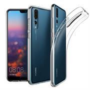 Schutzhülle für Huawei P20 Pro Hülle Silikon Backcover Ultra-Clear Case im transparenten Design