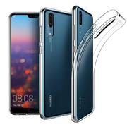 Schutzhülle für Huawei P20 Hülle Transparent Slim Cover Clear Case