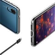 Schutzhülle für Huawei P20 Hülle Silikon Backcover Ultra-Clear Case im transparenten Design