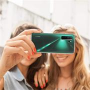 Schutzhülle für Huawei P40 Lite 5G Hülle Transparent Slim Cover Clear Case