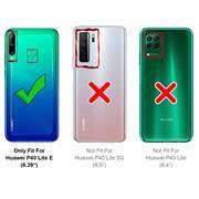 Schutzhülle für Huawei P40 Lite E Hülle Transparent Slim Cover Clear Case