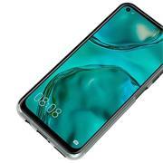 Schutzhülle für Huawei P40 Lite Hülle Transparent Slim Cover Clear Case