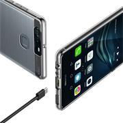 Schutzhülle für Huawei P9 Hülle Transparent Slim Cover Clear Case