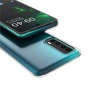 Schutzhülle für Huawei P Smart 2021 Hülle Transparent Slim Cover Clear Case