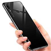 Schutzhülle für Huawei Y7 2019 Hülle Transparent Slim Cover Clear Case