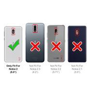 Schutzhülle für Nokia 2 Hülle Transparent Slim Cover Clear Case