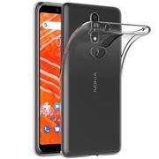 Schutzhülle für Nokia 3.1 Plus Hülle Transparent Slim Cover Clear Case