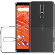 Transparente Schutzhülle für Nokia 3.1 Plus Backcover Hülle