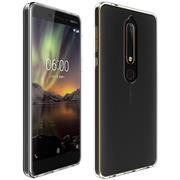 Transparente Schutzhülle für Nokia 6 2018 Backcover Ultra-Clear Case