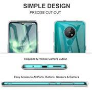 Schutzhülle für Nokia 7.2 / 6.2 Hülle Transparent Slim Cover Clear Case