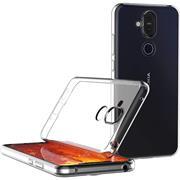 Schutzhülle für Nokia 8.1 Hülle Transparent Slim Cover Clear Case