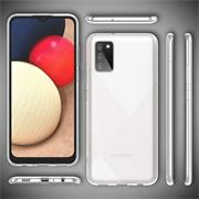 Schutzhülle für Samsung Galaxy A03s Hülle Transparent Slim Cover Clear Case