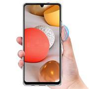 Schutzhülle für Samsung Galaxy A12 Hülle Transparent Slim Cover Clear Case