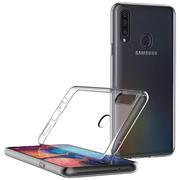 Schutzhülle für Samsung Galaxy A20s Hülle Transparent Slim Cover Clear Case