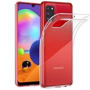 Schutzhülle für Samsung Galaxy A31 Hülle Transparent Slim Cover Clear Case