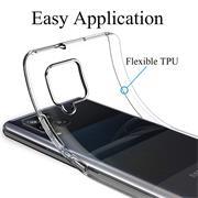 Schutzhülle für Samsung Galaxy A42 5G Hülle Transparent Slim Cover Clear Case