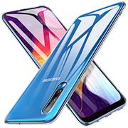 Transparente Schutzhülle für Samsung Galaxy A50 Backcover Hülle