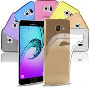 Schutzhülle für Samsung Galaxy A5 2016 Editon Hülle Silikon Backcover Ultra-Clear Case im transparenten Design