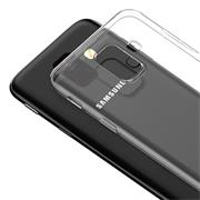 Schutzhülle für Samsung Galaxy A6 Hülle Transparent Slim Cover Clear Case