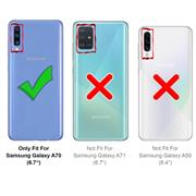 Schutzhülle für Samsung Galaxy A70 / A70s Hülle Transparent Slim Cover Clear Case