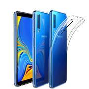 Schutzhülle für Samsung Galaxy A7 2018 Hülle Silikon Backcover Ultra-Clear Case Transparent