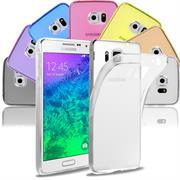Transparente Schutzhülle für Samsung Galaxy Alpha Backcover Handyhülle