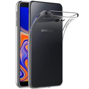 Schutzhülle für Samsung Galaxy J4 Plus Hülle Transparent Slim Cover Clear Case