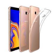 Schutzhülle für Samsung Galaxy J4 Plus Hülle Silikon Backcover Ultra-Clear Case Transparent