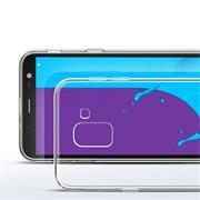 Transparente Schutzhülle für Samsung Galaxy J6 2018 Backcover Hülle