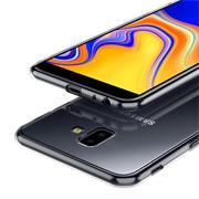 Schutzhülle für Samsung Galaxy J6 Plus Hülle Silikon Backcover Ultra-Clear Case Transparent