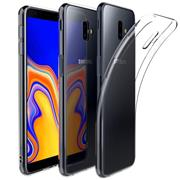 Schutzhülle für Samsung Galaxy J6 Plus Hülle Transparent Slim Cover Clear Case