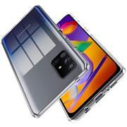 Schutzhülle für Samsung Galaxy M31s Hülle Transparent Slim Cover Clear Case