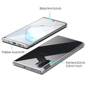 Transparente Schutzhülle für Samsung Galaxy Note 10 Plus Backcover Hülle