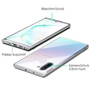 Schutzhülle für Samsung Galaxy Note 10 Hülle Transparent Slim Cover Clear Case