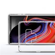 Schutzhülle für Samsung Galaxy Note 9 Hülle Silikon Backcover Ultra-Clear Case im transparenten Design