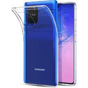 Schutzhülle für Samsung Galaxy S10 Lite Hülle Transparent Slim Cover Clear Case