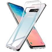 Schutzhülle für Samsung Galaxy S10 Plus Hülle Transparent Slim Cover Clear Case