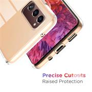 Schutzhülle für Samsung Galaxy S20 FE Hülle Transparent Slim Cover Clear Case