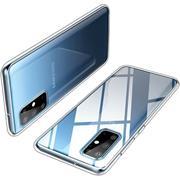 Schutzhülle für Samsung Galaxy S20 Hülle Transparent Slim Cover Clear Case