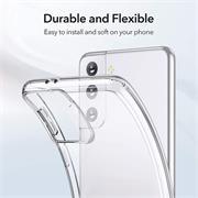 Schutzhülle für Samsung Galaxy S21 FE Hülle Transparent Slim Cover Clear Case
