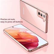 Schutzhülle für Samsung Galaxy S21 Hülle Transparent Slim Cover Clear Case