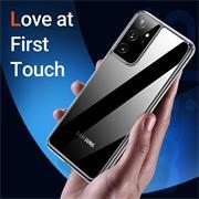 Schutzhülle für Samsung Galaxy S21 Ultra Hülle Transparent Slim Cover Clear Case