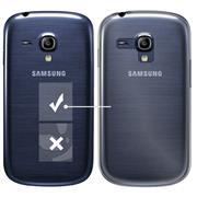 Schutzhülle für Samsung Galaxy S3 Mini Hülle Transparent Slim Cover Clear Case