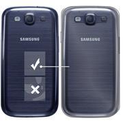Schutzhülle für Samsung Galaxy S3 Hülle Transparent Slim Cover Clear Case