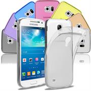 Transparente Schutzhülle für Samsung Galaxy S4 Mini Backcover Hülle