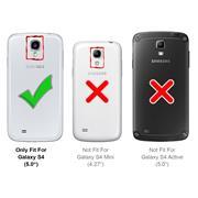 Schutzhülle für Samsung Galaxy S4 Hülle Transparent Slim Cover Clear Case